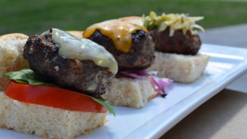 Beef Sliders Three Ways